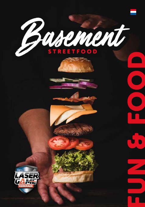 logo basement fun and food